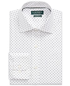 Men's Classic-Fit No-Iron Print Dress Shirt