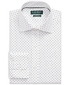 Lauren Ralph Lauren Men's Classic-Fit No-Iron Print Dress Shirt