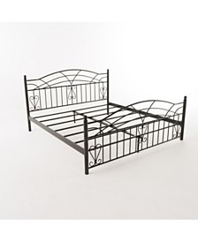 Brassfield King Bed Frame, Quick Ship