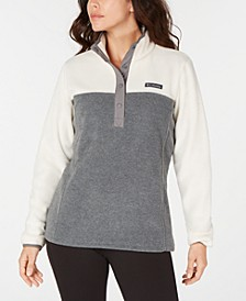 Women's Benton Springs Snap-Front Colorblocked Top
