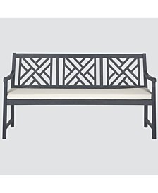 Glendyn Outdoor Bench, Quick Ship