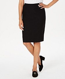 Pull-On Tummy-Control Skirt, Created for Macy's