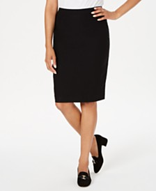 Charter Club Pull-On Tummy-Control Skirt, Created for Macy's