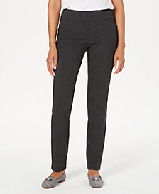 Charter Club Cambridge Skinny Pants, Created for Macy's