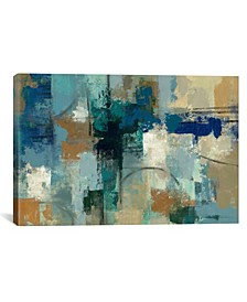 "Jasper Lagoon by Silvia Vassileva Gallery-Wrapped Canvas Print - 18"" x 26"" x 0.75"""