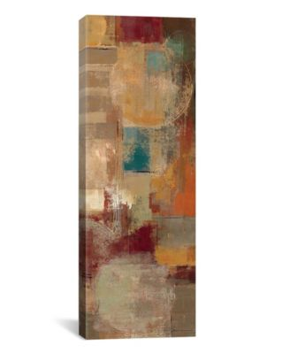 "Oriental Trip Panel Ii by Silvia Vassileva Gallery-Wrapped Canvas Print - 36"" x 12"" x 0.75"""