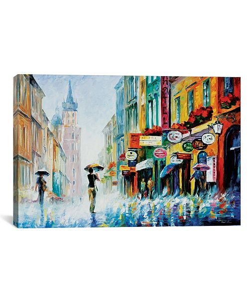 "iCanvas Summer Downpour by Leonid Afremov Gallery-Wrapped Canvas Print - 18"" x 26"" x 0.75"""