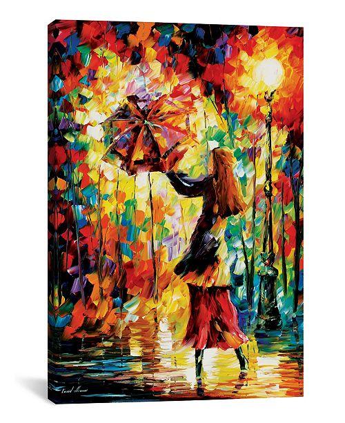 "iCanvas Rainy Mood by Leonid Afremov Gallery-Wrapped Canvas Print - 26"" x 18"" x 0.75"""