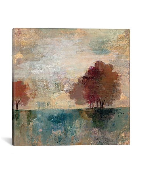 """iCanvas Landscape Monotype I by Silvia Vassileva Gallery-Wrapped Canvas Print - 26"""" x 26"""" x 0.75"""""""