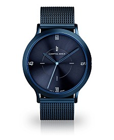Lilienthal Berlin Urbania All Blue Steel Mesh Watch 40mm