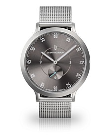 L1 All Silver Mesh Watch 42mm