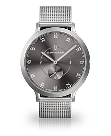 Lilienthal Berlin L1 All Silver Mesh Watch 42mm