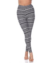 f972702bf White Mark Women's One Size Fits Most Printed Leggings