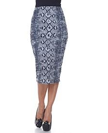 Cynthia Pencil Skirt