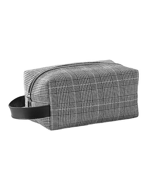Cathy's Concepts Personalized Glen Plaid Dopp Kit