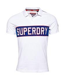 Men's Retro Sports Polo Shirt