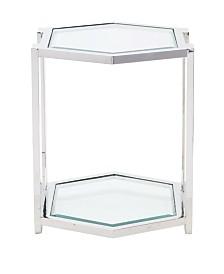 Bernhardt Allegra Metal End Table
