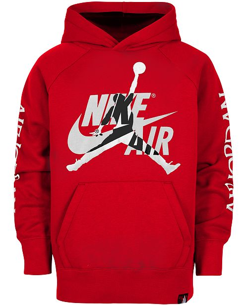 best choice detailed look half price Little Boys Nike Air-Print Hoodie