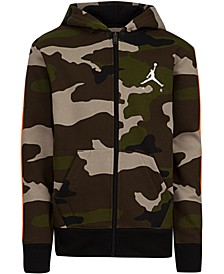 Toddler Boys Camo-Print Zip-Up Hoodie
