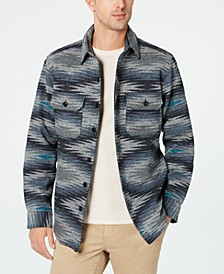 Men's Magic Valley Printed Shirt Jacket