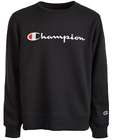 Champion Little Boys Embroidered Logo Sweatshirt