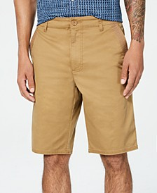 Men's Flat Front Shorts, Created for Macy's