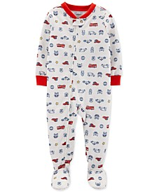 Baby Boys 1-Pc. Hero Vehicle Pajama