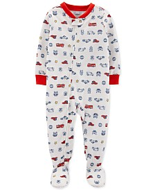Carter's Baby Boys 1-Pc. Hero Vehicle Pajama