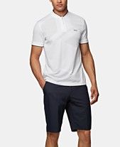 b7d8cbc22 BOSS Men's Pariq Slim-Fit Polo Shirt