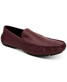 Calvin Klein Men's Kaleb Leather Loafers
