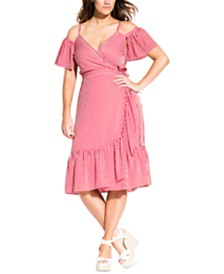 City Chic Trendy Plus Size Riviera Dress