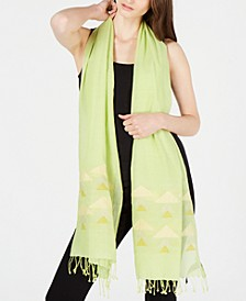 Cotton Geo-Print Wrap