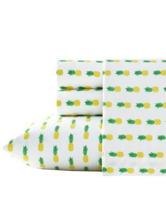 Pineapples Sheet Set, Twin