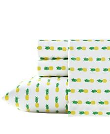 Poppy & Fritz Pineapples Sheet Set, Queen