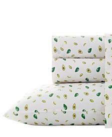 Poppy & Fritz Avocados Sheet Set, Twin