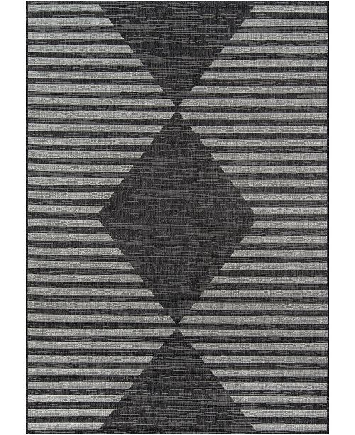 "Novogratz Collection Novogratz Villa Vi-07 Charcoal 7'10"" x 10'10"" Area Rug"
