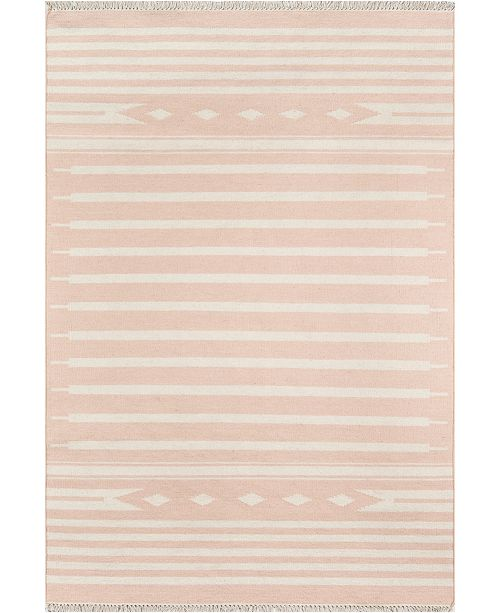 "Erin Gates Thompson Tho-1 Billings Pink 5' x 7'6"" Area Rug"
