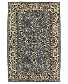 "Mystic William-01 Blue 9'6"" x 13' Area Rug"