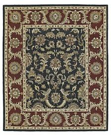 Solomon King David-52 Graphite 8' x 10' Area Rug