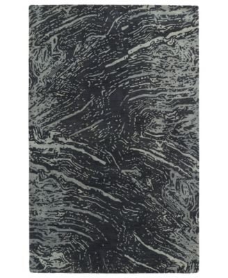 Brushstrokes BRS01-38 Charcoal 2' x 3' Area Rug