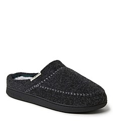 Women's Felt X-Stitch Clog Slipper, Online Only