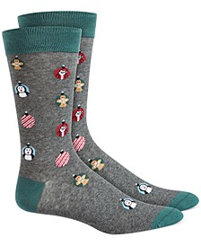 Men's Ornament Socks, Created for Macy's