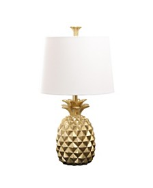 Abbyson Living Ailani Gold Pineapple Table Lamp