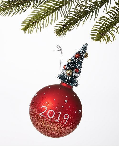 Macys Hours Christmas Eve 2019.Macy S Ball With Christmas Tree Ornament Created For Macy S