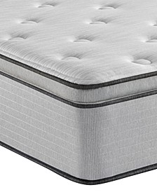 "BR800 13.5"" Plush Pillow Top Mattress- Twin"