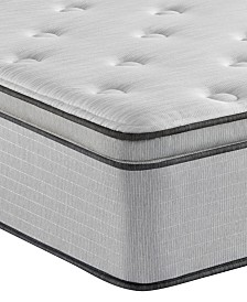 "Beautyrest BR800 13.5"" Plush Pillow Top Mattress- King"
