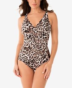 e06de6b527e Miraclesuit Sublime Feline Oceanus One-Piece Swimsuit, Available in DD Cup