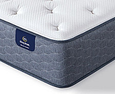 "Serta Sleeptrue Alverson II 12"" Plush Mattress- Twin"