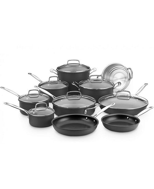 Cuisinart Chefs Classic Hard Anodized 17-Pc. Set
