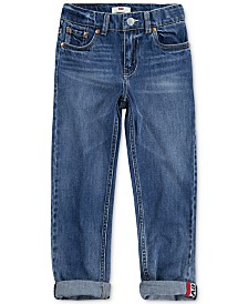 Levi's® Big Boys 502™ Regular-Tapered Fit Stretch Jeans